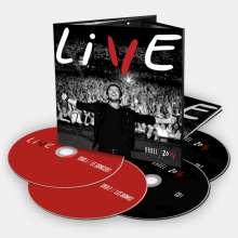 Patrick Bruel: Live 2014 (2 DVD + 2 CD), 2 DVDs und 2 CDs