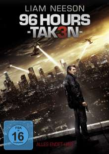 96 Hours: Taken 3, DVD