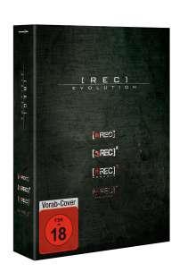 [Rec] 1-4, 4 DVDs