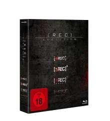 [Rec] 1-4 (Blu-ray), 4 Blu-ray Discs