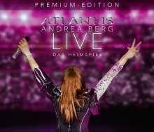 Andrea Berg: Atlantis - Live - Das Heimspiel (Premium Edition) (2CD + DVD), 2 CDs und 1 DVD