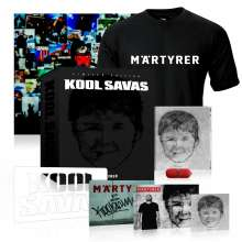 Kool Savas: Märtyrer (Limited Fan-Box) (CD + USB-Kapsel + DVD + Shirt Gr.L), CD