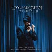 Leonard Cohen (1934-2016): Live In Dublin - 12.9.2013, 3 CDs und 1 DVD