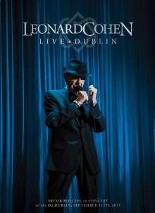 Leonard Cohen (1934-2016): Live In Dublin - 12.9.2013, 3 CDs und 1 Blu-ray Disc