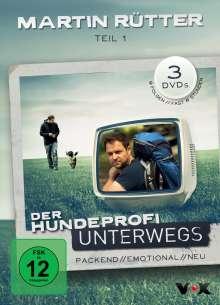 Martin Rütter - Der Hundeprofi unterwegs Teil 1, 3 DVDs
