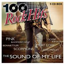 100 Rock Hits, 5 CDs