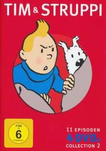 Tim und Struppi Collection Vol. 2, 4 DVDs