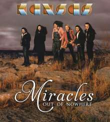 Kansas: Miracles Out Of Nowhere (CD + DVD), 1 CD und 1 DVD