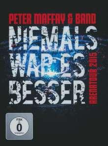 Peter Maffay: Niemals war es besser (Live), 2 DVDs
