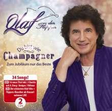 Olaf (ex-Die Flippers): Du bist wie Champagner - Zum Jubiläum nur das Beste, 2 CDs