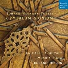 Johann Hermann Schein (1586-1630): Cymbalum Sionium (Motetten-Sammlung), CD