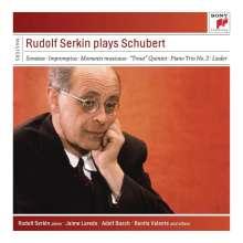 Franz Schubert (1797-1828): Rudolf Serkin plays Schubert, 5 CDs