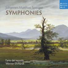 Johannes Matthias Sperger (1750-1812): Symphonien Nr.21 g-moll, Nr.26 c-moll, Nr.34 D-Dur, CD