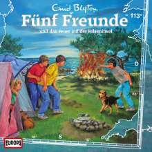 Fünf Freunde (Folge 113) - und das Feuer auf der Felseninsel, CD