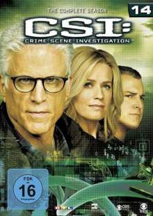 CSI Las Vegas Season 14, 6 DVDs