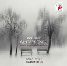 Franz Schubert (1797-1828): Winterreise D.911 (für Tenor & Klaviertrio), 2 CDs
