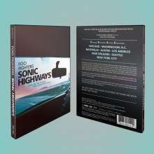 Foo Fighters: Sonic Highways, 3 Blu-ray Discs