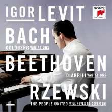 Igor Levit - Bach, Beethoven, Rzewski, 3 CDs