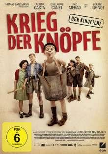 Krieg der Knöpfe (2011), DVD
