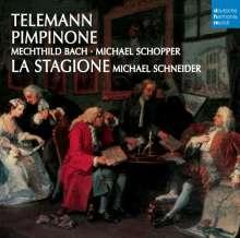 Georg Philipp Telemann (1681-1767): Pimpinone, CD