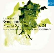Jan Hugo Vorisek (1791-1825): Symphonie D-dur, CD