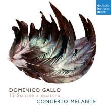 Domenico Gallo (1730-1768): 12 Sonate a quattro, 2 CDs