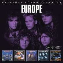 Europe: Original Album Classics, 5 CDs