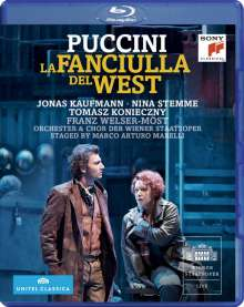 Giacomo Puccini (1858-1924): La Fanciulla del West, Blu-ray Disc