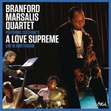 Branford Marsalis (geb. 1960): A Love Supreme: Live in Amsterdam (CD + DVD), 2 CDs