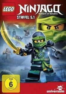 LEGO Ninjago 5 Box 1, DVD