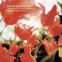 Heinrich Ignaz Biber (1644-1704): Harmonia artificiosa-ariosa (Partiten 1-7), CD