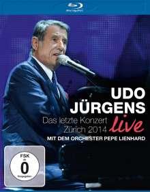 Udo Jürgens: Das letzte Konzert - Zürich 2014 Live, Blu-ray Disc