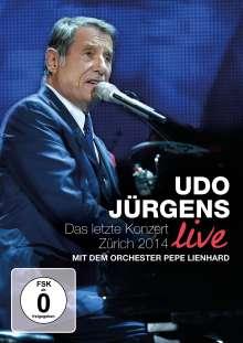 Udo Jürgens: Das letzte Konzert - Zürich 2014 Live, DVD