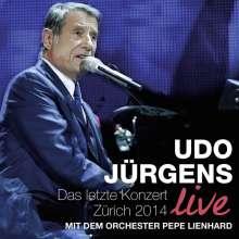Udo Jürgens: Das letzte Konzert - Zürich 2014 Live, 2 CDs