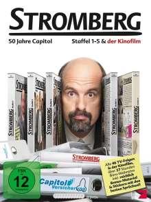 Stromberg-Box - Staffel 1-5 + Film, 11 DVDs