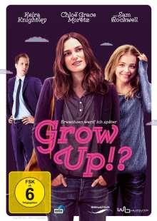 Grow Up!?, DVD