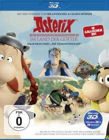 Asterix im Land der Götter (3D Blu-ray), Blu-ray Disc