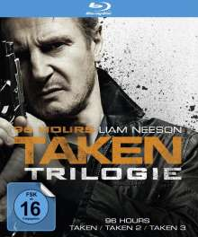96 Hours: Taken 1-3 (Blu-ray), 3 Blu-ray Discs