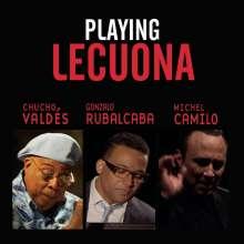 Playing Lecuona, CD