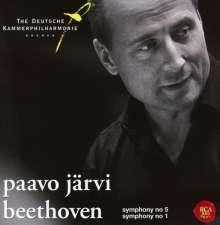 Ludwig van Beethoven (1770-1827): Symphonien Nr.1 & 5, CD