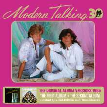 Modern Talking: The First Album & The Second Album (30th Anniversary Edition) (Limited Special Edition), 3 CDs