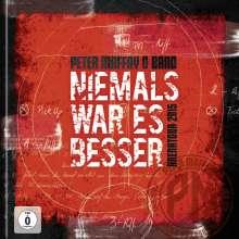 Peter Maffay: Niemals war es besser (Live) (2 DVD + Blu-ray), 2 DVDs