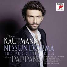 Jonas Kaufmann – Nessun Dorma, the Puccini Album, CD