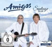Die Amigos: Santiago Blue (CD + DVD) (Limited Edition), 1 CD und 1 DVD