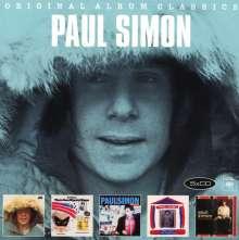 Paul Simon (geb. 1941): Original Album Classics, 5 CDs