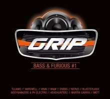 GRIP Bass & Furious #1, 2 CDs