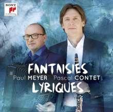 Paul Meyer & Pascal Contet - Fantaisies Lyriques, CD
