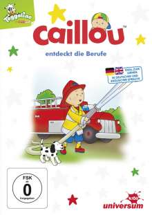 Caillou: Caillou entdeckt die Berufe, DVD