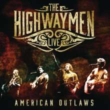 The Highwaymen: American Outlaws - Live, 3 CDs und 1 DVD