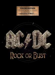 AC/DC: Rock Or Bust (Tour Edition + T-Shirt Größe L), CD